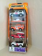 Matchbox Mbx Metal Ready For Action 5 Pack Set U1