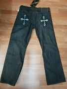 Helix Instinct Is A Virtue Menand039s Distressed Boot Cut Jeans Light Wash 34andtimes30 Cb4