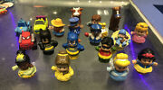 Fisher Price Little People Lot Of 18 Princess - Super Hero - Animal - Cars