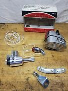 Vintage New Old Stock Bicycle Generator Light Set W/ Headlight And Taillight Sears