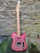 Fender Tl-69 Telecaster Cij 1999 Pink Paisley - Free Uk Delivery