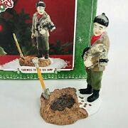 Dept 56 A Christmas Story Farewell To The Leg Lamp Figurine Village Accessory
