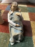 Willow Tree The Quilt Figurine 2010 Rocking Baby Susan Lordi Free Shipping
