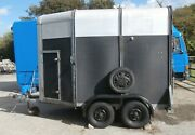 Ifor Williams Hd505 Double Horse Trailer. Tidy Good Condition