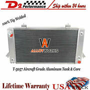 For 1987-1998 Land Rover Range Rover/discovery I/ii 3.9l 4.0l 4 Rows Radiator