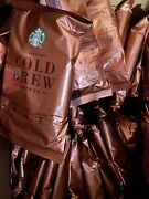 Starbucks Cold Brew Coffee Pitcher Packs Sealed 15 Bags Bbd 03/23/20 Sold Out