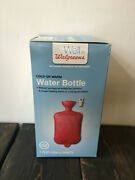 Walgreens Water Bottle Warm Or Cold 1.75 Qt / 1.656 L Ribbed Surface
