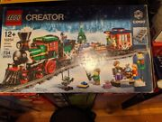 Lego Creator Winter Holiday Train 10254 Power Functions/extra Railcars And Tracks
