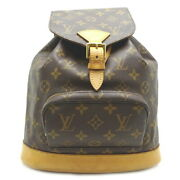 Louis Vuitton Monsuri Mm Womenand39s Backpack Daypack M51136 Discontinued