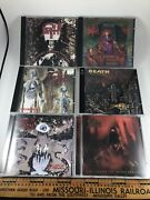 Cynic Cd Lot Of 7 Focus Traced In Air Portal Tapes Carbon-based Anatomy