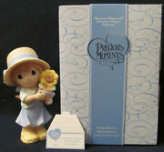 Precious Moments Figurine 940013each Day Is Brighter When You Share Sunshine