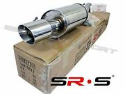 Srs Axle Back Exhaust For Toyota Corolla E170 1.8l 2014- 2019 14 15 16 17 18 19