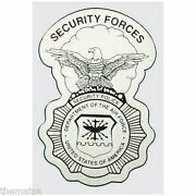 Air Force Security Forces Police Badge Military 5 Decal