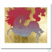 La Cheval Illustrated Horse By Guillaume Azoulay