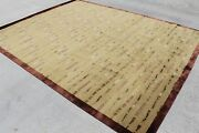 Rsg27186 Exclusive Wool And Silk Hand Crafted Tibetan Rug 8and039 X 10and039 Made In Nepal