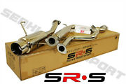 Jdm Srs Catback Exhaust System For 95 96 97 98 Nissan Maxima