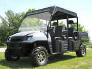 Hard Windshield And Canopy For Polaris Ranger Crew