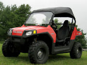 Roof And Hard Windshield For Polaris Rzr - Travels Highway Speeds - Commercial
