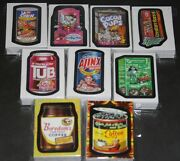 Wacky Packages Ans1 2 3 4 5 6 7 Fb 1st 2nd 9 Mint Sets