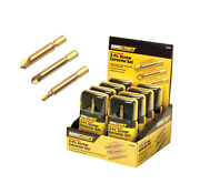3pc Maxcraft Screw Extractor Set Hex Shank For Drill