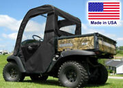 Doors And Rear Window For Kubota Rtv 500 - Puncture Proof - Soft Material