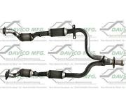 Fits 1999-2004 Ford Mustang 3.8l Y Pipe And Catalytic Converters Ref 19165