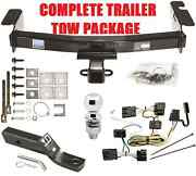 Complete Trailer Hitch Package Fast Shipping Easy