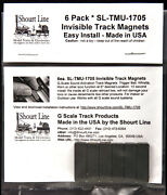 6 G Scale Invisible Sound System Track Sensor Magnets For Bachmann Trains New