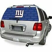 New York Giants Ny Auto Rear Back Window Film Decal Windshield Cover Football