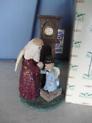 Enesco Belsnickle Big Figurine Santa Gifts For Mankind 364126 In Box