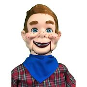Howdy Doody Super Deluxe Upgrade Ventriloquist Dummy Doll Moving Eyes And Brows