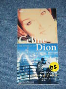 Celine Dion Japan 1998 Tall 3 Inch Cd Single The Power Of Love