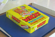 Vintage Wacky Packages 1989 Opee Chee Yellow Box 36 Unopened Packs @@rare@@