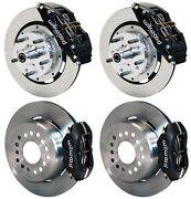 Wilwood Disc Brake Kit,dodge And Plymouth 62-72 B-body,70-72 E-body W/drums,12,6