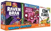 Rare 2012 Wacky Packages Series Ans 9 Cereal Box Tray Set 9 Boxes Bonus C1-c9