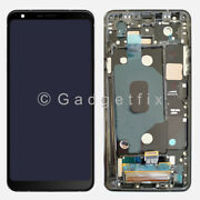 Us Lcd Display Touch Screen Digitizer + Frame For Lg Stylo 4 | Stylo 4 Plus Q710