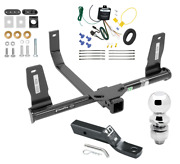 Trailer Tow Hitch For 10-15 Mercedes-benz Glk350 Complete Pkg Wiring And 2 Ball