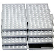 Smd Smt 0603 1 E96 Resistor Kit 492 Values X 100pc Rohs Filled 4 Box-all Label