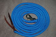 14and039 Blue Training Yacht Rope Lead For Parelli Method