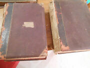 The Works Of Shakspere With Notes By Charles Knight. 2 Massive Volumes. Ca 1875