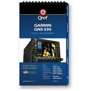 Garmin Gns 530 Quick Reference Checklist Book By Qref