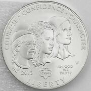 2013 W 1 Silver Girl Scouts Of The Usa Centennial Uncirculated Mint Box And Coa