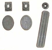 Pedal And Draft Seal Set For 1942-1948 And Early 1949 Plymouth