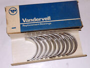 Nos Vandervell Main Bearings For Renault Caravelle And R8. +.25mm