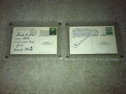 Groucho And Chico Marx Signed/autograped Vintage Postcards Pls Make Best Offer