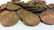 Full Roll 1979 Canada One Cent Pennies Circulated