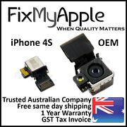 Iphone 4s Oem Original Rear Back 8mp Camera Flash Lens Assembly Flex Replacement