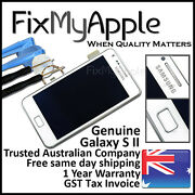 Samsung Galaxy S Ii S2 I9100 White Lcd Touch Screen Digitizer Assembly Frame New