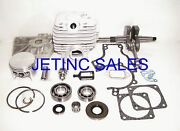 Cylinder And Piston Kit Fits Stihl 038 Magnum Ms380 52 Mm