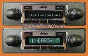 New 300 Watt Am Fm Stereo Radio And Cd Player And03978-86 Jeep Cj 5 7 8 Ipod Aux In